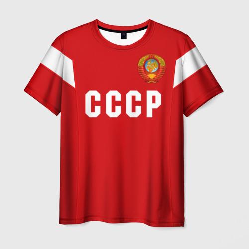 Мужская 3D футболка Сборная СССР 1988