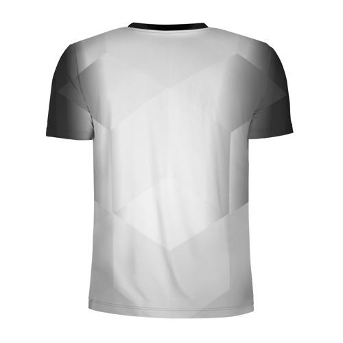 Мужская футболка 3D спортивная с принтом JUVENTUS / ЮВЕНТУС, вид сзади #1