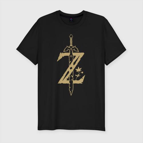 Мужская футболка премиум с принтом The Legend of Zelda, вид спереди #2