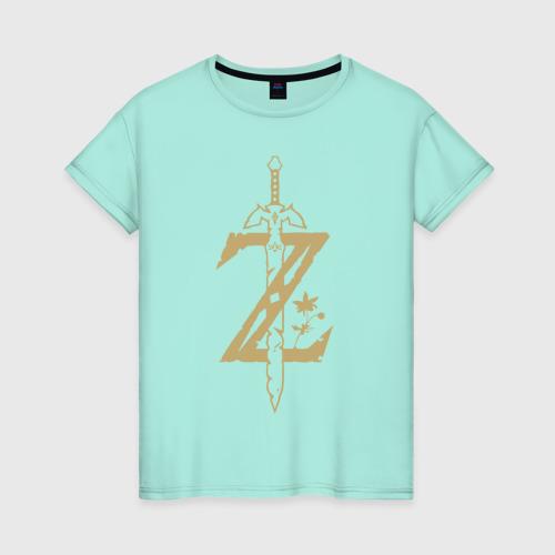 Женская футболка The Legend of Zelda