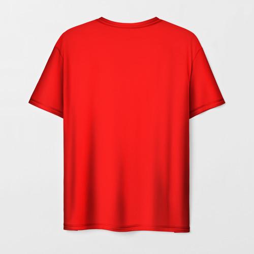 Мужская 3D футболка с принтом Сделано в СССР 1969, вид сзади #1