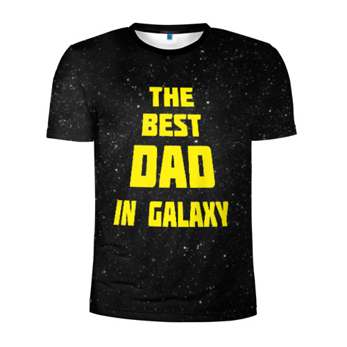 Мужская футболка 3D спортивная The best dad