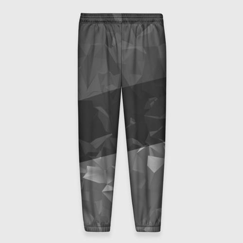 Мужские брюки 3D с принтом MITSUBISHI SPORT, вид сзади #1