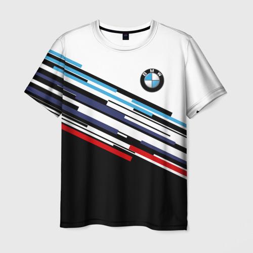 Мужская 3D футболка BMW BRAND COLOR
