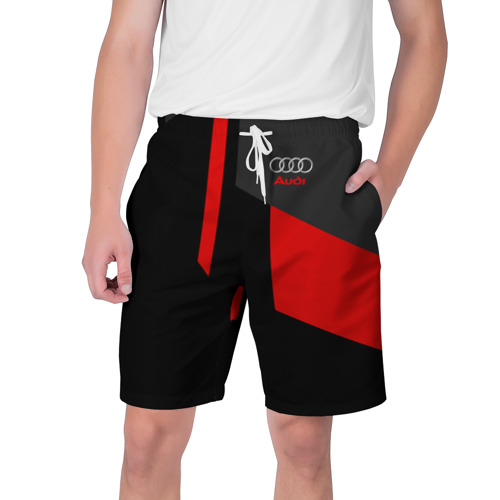 Мужские шорты 3D AUDI   АУДИ