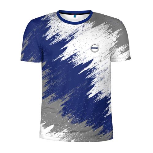 Мужская футболка 3D спортивная VOLVO