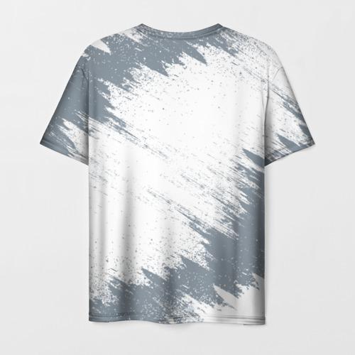 Мужская 3D футболка с принтом RANGE ROVER, вид сзади #1