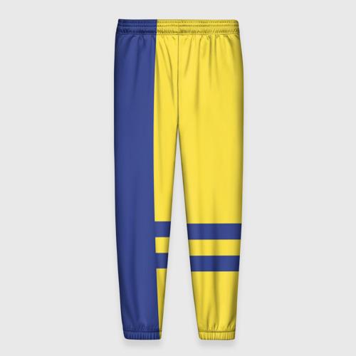 Мужские брюки 3D с принтом Subaru, вид сзади #1