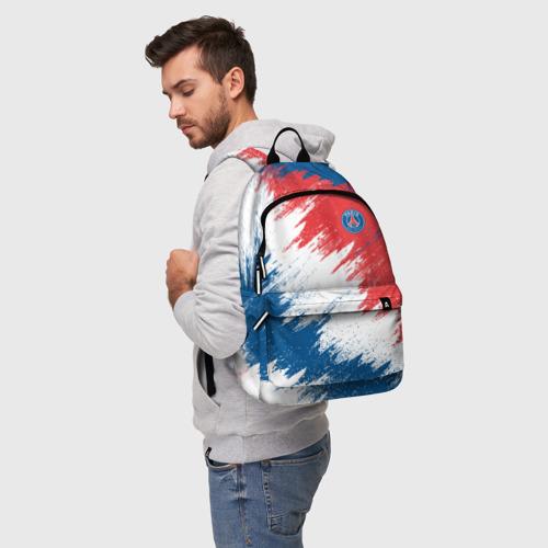 Рюкзак 3D с принтом FC PSG, фото на моделе #1