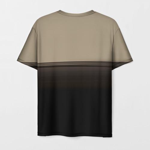 Мужская 3D футболка с принтом Linkin Park Meteora, вид сзади #1