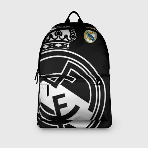 Рюкзак 3D с принтом Real Madrid Exclusive, вид сбоку #3