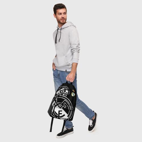 Рюкзак 3D с принтом Real Madrid Exclusive, фото #5