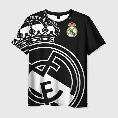 Мужская 3D футболка Real Madrid Exclusive