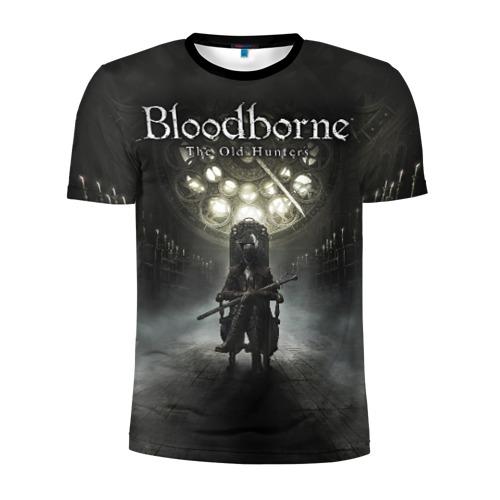 Мужская футболка 3D спортивная Bloodborne