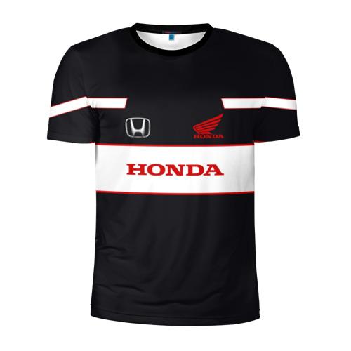 Мужская футболка 3D спортивная Honda