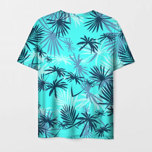 Мужская 3D футболка с принтом GTA VICE CITY, вид сзади #1