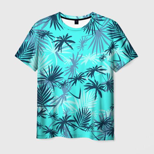 Мужская 3D футболка с принтом GTA VICE CITY, вид спереди #2