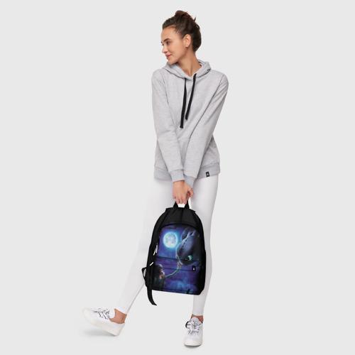 Рюкзак 3D с принтом Как приручить дракона, фото #6