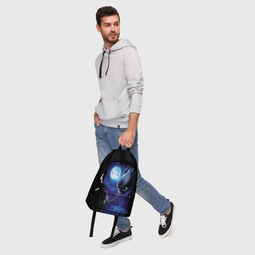 Рюкзак 3D с принтом Как приручить дракона, фото #5