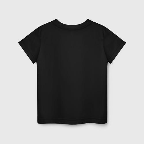 Детская футболка с принтом Bendy and the ink machine, вид сзади #1