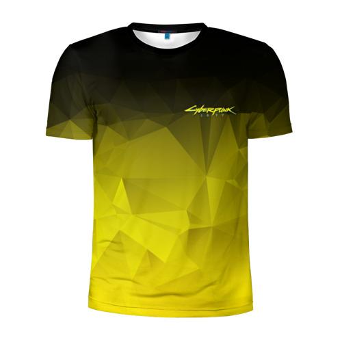 Мужская футболка 3D спортивная CYBERPUNK 2077 | КИБЕРПАНК 2077