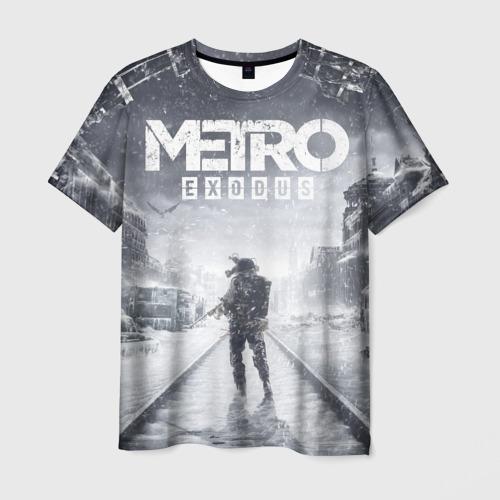 Мужская 3D футболка Metro Exodus: Артём