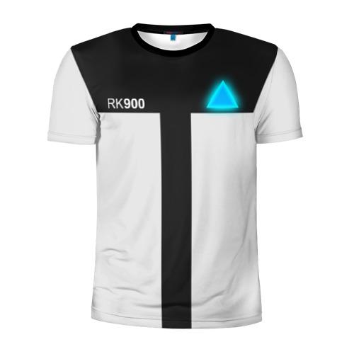 Мужская футболка 3D спортивная RK 900 CONNOR | КОННОР РК 900 | DETROIT BECOME HUMAN