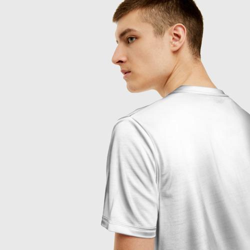 Мужская 3D футболка с принтом Xxxtentacion, вид сзади #2