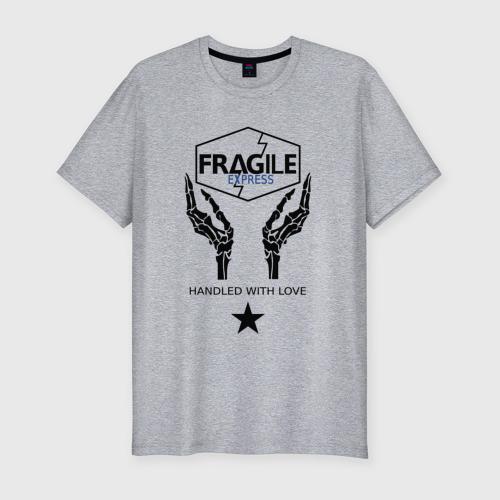Мужская футболка премиум с принтом FRAGILE EXPRESS | DEATH STRANDING, вид спереди #2