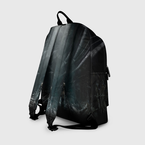Рюкзак 3D с принтом METRO EXODUS   МЕТРО ИСХОД АРТЁМ, вид сзади #1