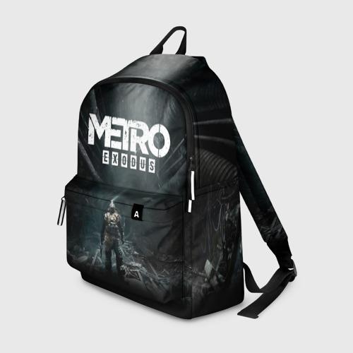 Рюкзак 3D с принтом METRO EXODUS   МЕТРО ИСХОД АРТЁМ, вид спереди #2