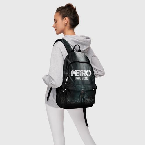 Рюкзак 3D с принтом METRO EXODUS   МЕТРО ИСХОД АРТЁМ, фото #4