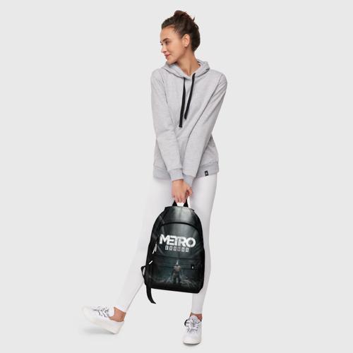 Рюкзак 3D с принтом METRO EXODUS   МЕТРО ИСХОД АРТЁМ, фото #6
