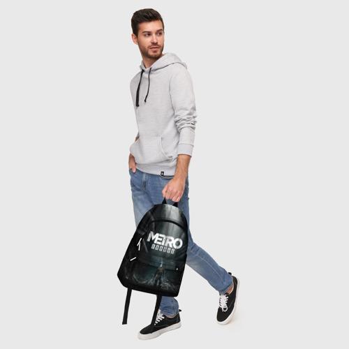 Рюкзак 3D с принтом METRO EXODUS   МЕТРО ИСХОД АРТЁМ, фото #5
