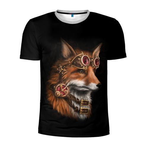 Мужская футболка 3D спортивная КОРОЛЕВСКИЙ ЛИС | KING FOX