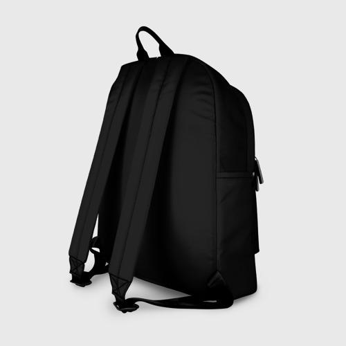 Рюкзак 3D с принтом Бендер, вид сзади #1