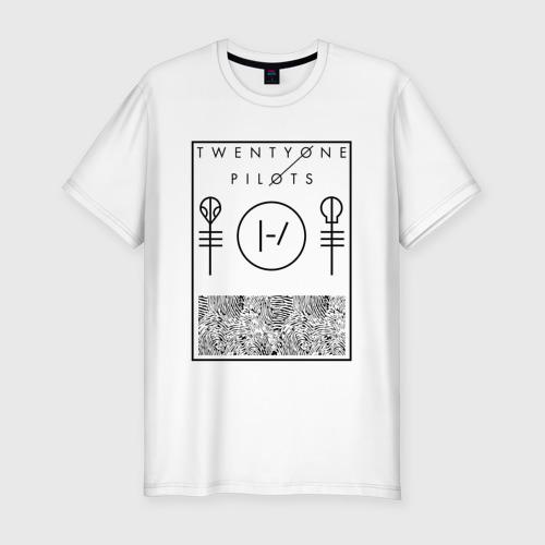 Мужская футболка премиум Twenty one pilots