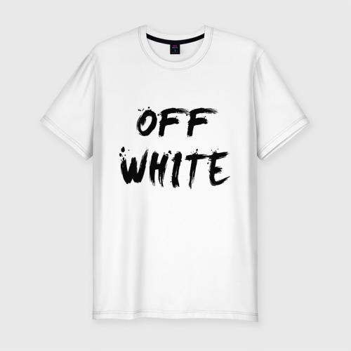 Мужская футболка премиум Off White Painting