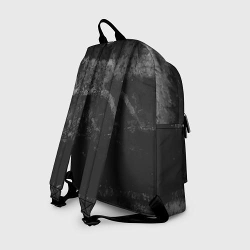 Рюкзак 3D с принтом BLACK Creeper, вид сзади #1