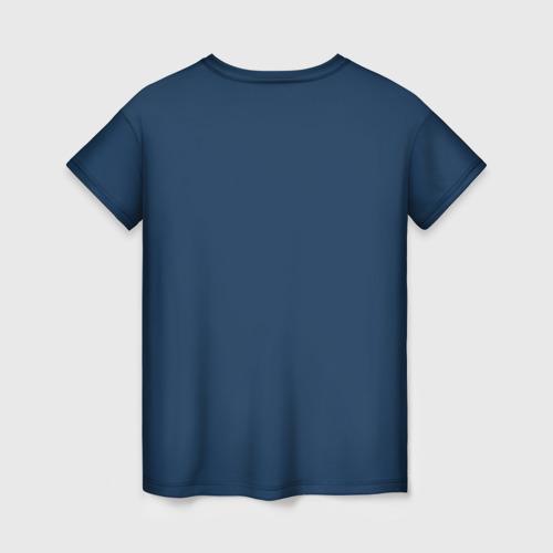 Женская 3D футболка с принтом Титаник, вид сзади #1