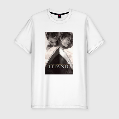 Мужская футболка премиум Титаник