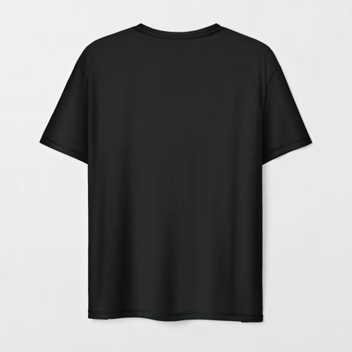 Мужская 3D футболка с принтом Морена, вид сзади #1