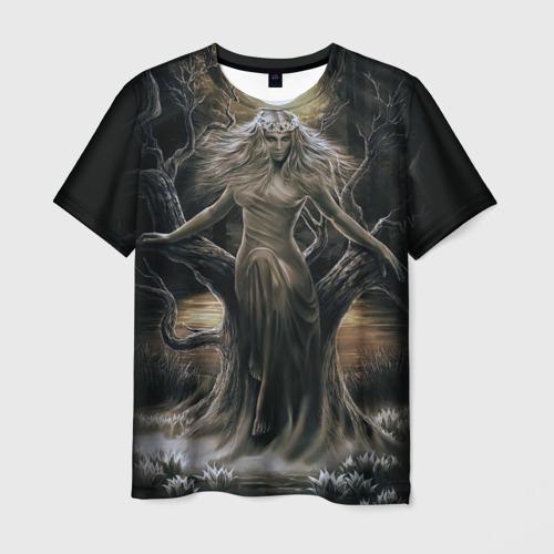 Мужская 3D футболка с принтом Морена, вид спереди #2