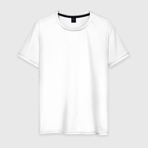 Мужская футболка с принтом Гомер Симпсон, вид спереди #2