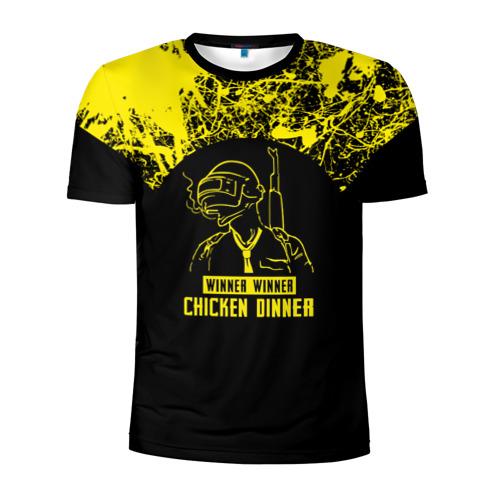 Мужская футболка 3D спортивная PUBG #6
