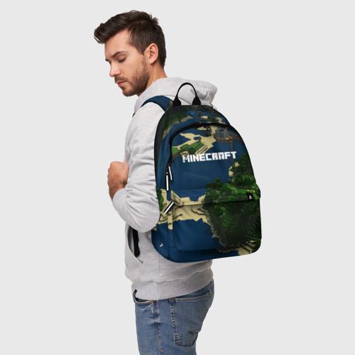 Рюкзак 3D с принтом Minecraft, фото на моделе #1