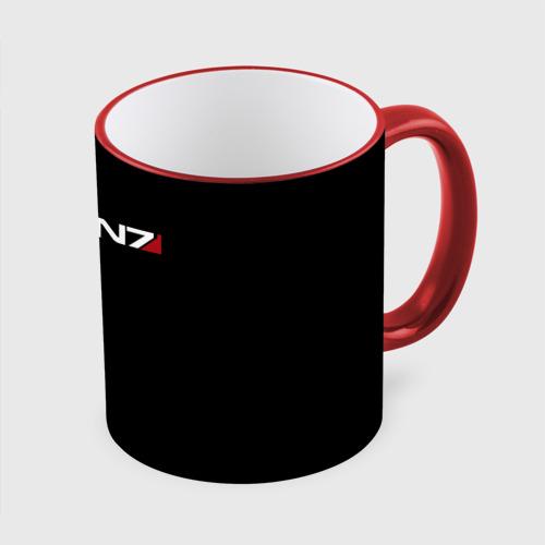 Кружка с полной запечаткой MASS EFFECT N7