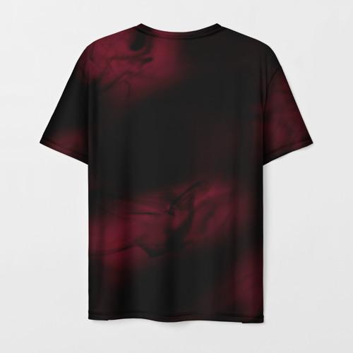 Мужская 3D футболка с принтом NORAGAMI Тьма, вид сзади #1