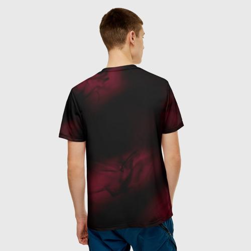 Мужская 3D футболка с принтом NORAGAMI Тьма, вид сзади #2