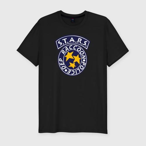 Мужская футболка премиум STARS RACCOON CITY